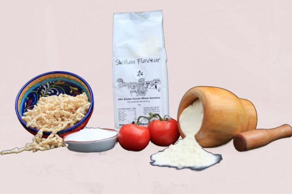 Sicilian Flavour Flour 1 Kg set light background